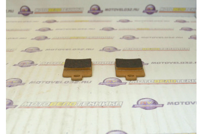 Колодки тормозные дисковые №12 X-TECH