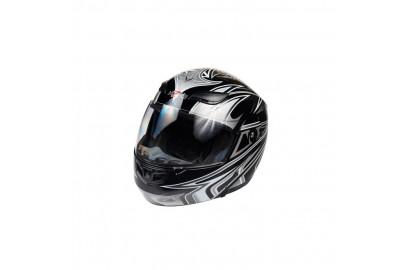 Шлем интеграл HIZER 620 черный  (M)