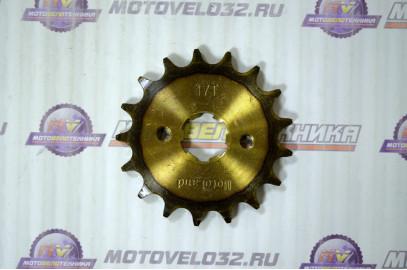 Звезда ведущая 17Т 428 мотоцикл CB/CG закаленный зуб