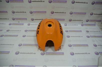 Бак топливный Stels Flex 250 оранжевый б/у LU052767
