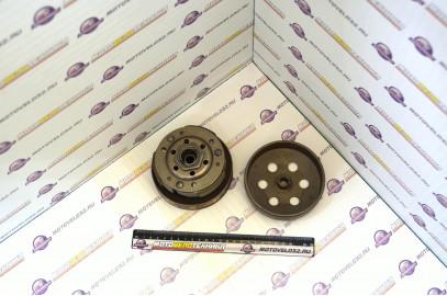 Вариатор задний с барабаном 139QMB, GY6, Honda Dio AF34 D=120мм