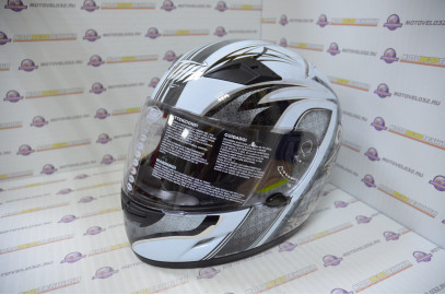 Шлем интеграл THH TS-39#6 WHT/GRAY CORSAIR (S)