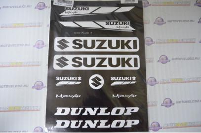 Комплект наклеек Suzuki (22x35см)
