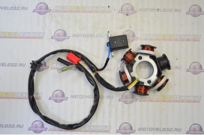 статор генератора 4Т 157QMB 5+1 катушка 150см3