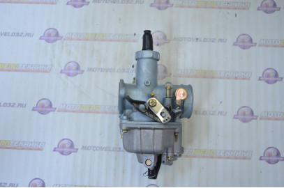 Карбюратор 4Т 125см3 питбайк XR125/TTR125/Мопед Alpha с ускорительным насосом