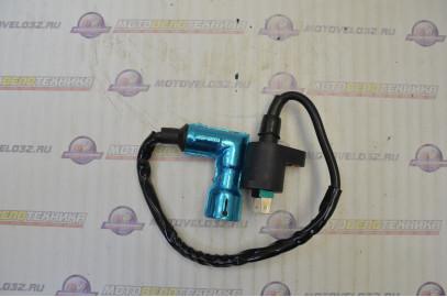 Катушка зажигания со свечным колпачком 4Т питбайк 2х контактная