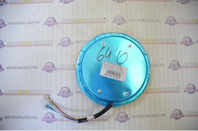 Блок-фара передняя ALPHA круглая Светодиодная  Led  6 SMD  (стекло с отражателем Led)