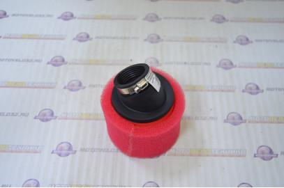Фильтр воздушный нулевого сопротивления 35мм 45гр. красный