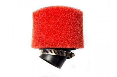 Фильтр воздушный нулевого сопротивления 38мм 45гр. красный
