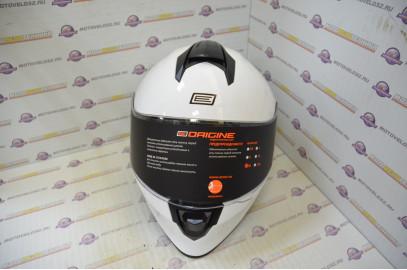 Шлем интеграл Origine DINAMO Solid белый глянцевый   M