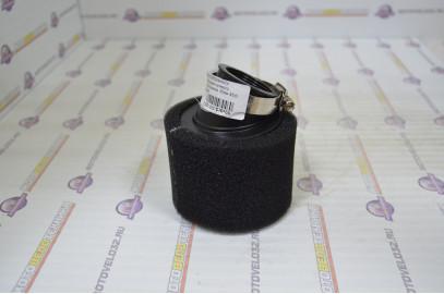 Фильтр воздушный нулевого сопротивления 42мм 45гр. черный