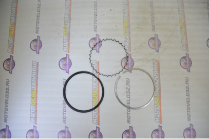 Кольца поршневые 4Т D63,5 163FML-2, CB200-C