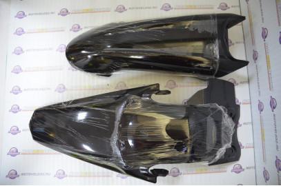 Комплект пластика для питбайка TTR 125   черный