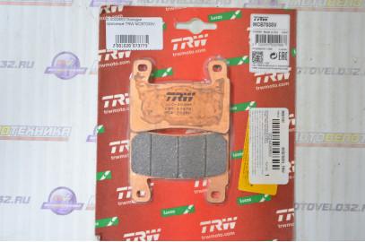 Колодки тормозные TRW MCB703SV
