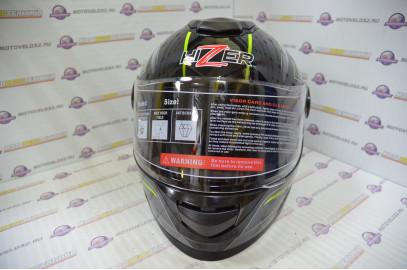 Шлем интеграл HIZER B565 (M) #3 black/yellow