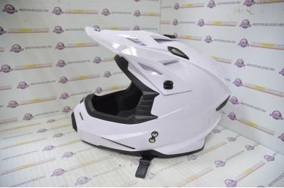 Шлем кросс HIZER J6801 (M) #2 white