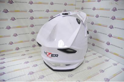 Шлем кроссовый HIZER J6801 (M) #2 white
