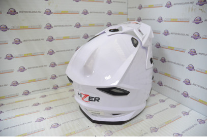 Шлем кроссовый HIZER J6801 (S) #2 white