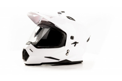 Шлем кросс HIZER J6802 (M) #2 white