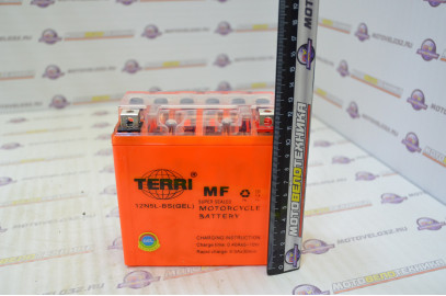Аккумулятор 12V 5Ah TERRI 120х60х130 высокий
