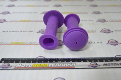 Ручки руля (грипсы L-102мм)детские цветные