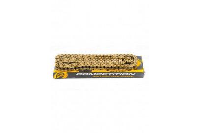 Цепь приводная 428H 132L PLUS SFR золотая