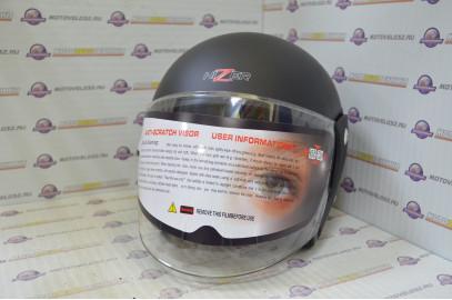 Шлем открытый HIZER 212 серый-жасмин  M