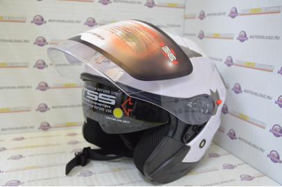 Шлем открытый HIZER 227 белый L