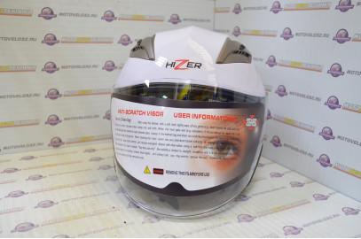 Шлем открытый HIZER 227 белый S