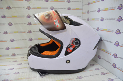 Шлем интеграл HIZER 532 белый L