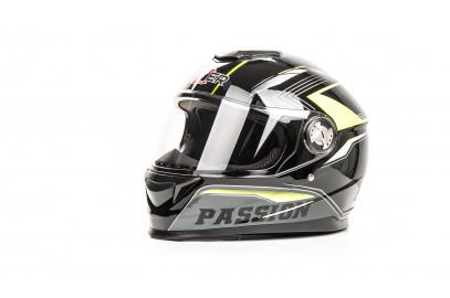 Шлем интеграл HIZER B565 (L) #3 black/yellow