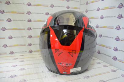 Шлем интеграл HIZER 523 черный S