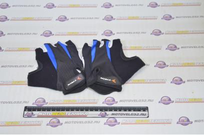 Велоперчатки Trix SP-1002 Blue XL
