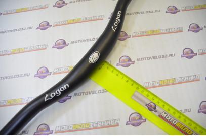 Руль для  вело НВ-201ВТ 640мм/ 31,8 мм алюм.черный