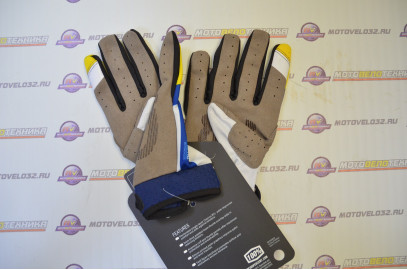 перчатки мотокросс №1 L