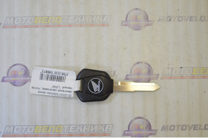 "Ключ замка зажигания (заготовка)  Honda  черный  ""LIPAI"""