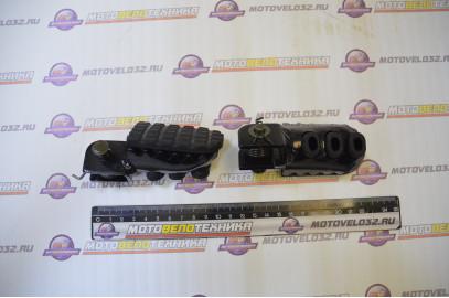 Подножки водителя в сборе (пара) TTR250Rb с резинкой