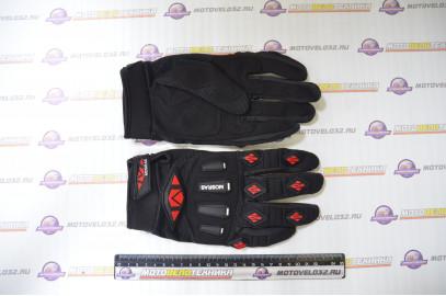 Перчатки мотоциклетные MG01 Черный L