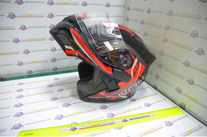Шлем модуляр KIOSHI Tourist 902 (Красный S)