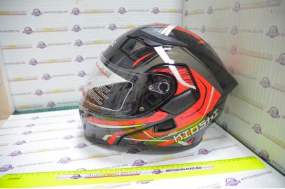 Шлем модуляр KIOSHI Tourist 902 (Красный M)