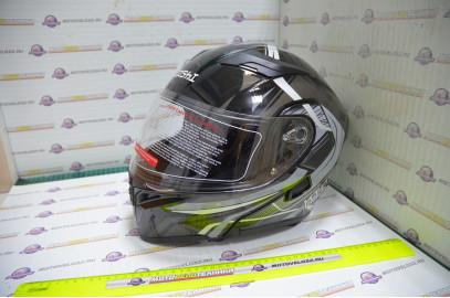Шлем модуляр KIOSHI Tourist 902 (Серый L)