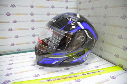 Шлем модуляр KIOSHI Tourist 902 (Синий S)