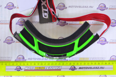 Очки кроссовые GTX 5015 Салатовые
