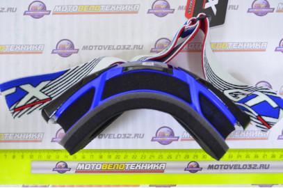 Очки кроссовые GTX 5015 синие