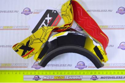 Очки кроссовые GTX 5019 желтые