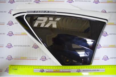 Щиток обл. боковой правый Motoland Alpha RX черный
