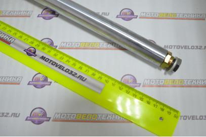 Перья вилки комплект Alpha Мопед, барабанный тормоз d=25мм ось 10мм