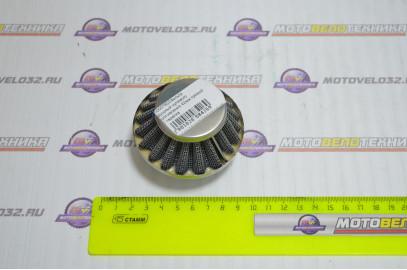 Фильтр воздушный нулевого сопротивления 42мм прямой L35 тарелка