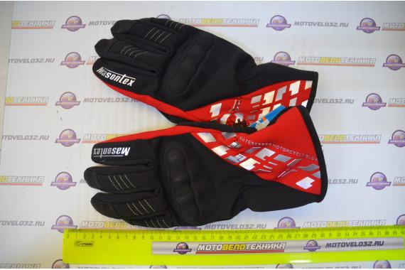 Перчатки Mason M36 (черный, красный L)