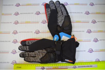 Перчатки Mason M36 (черный, красный XL)